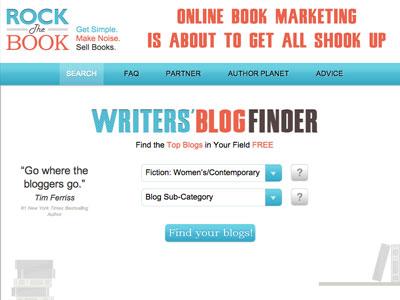 Writers' Blog Finder